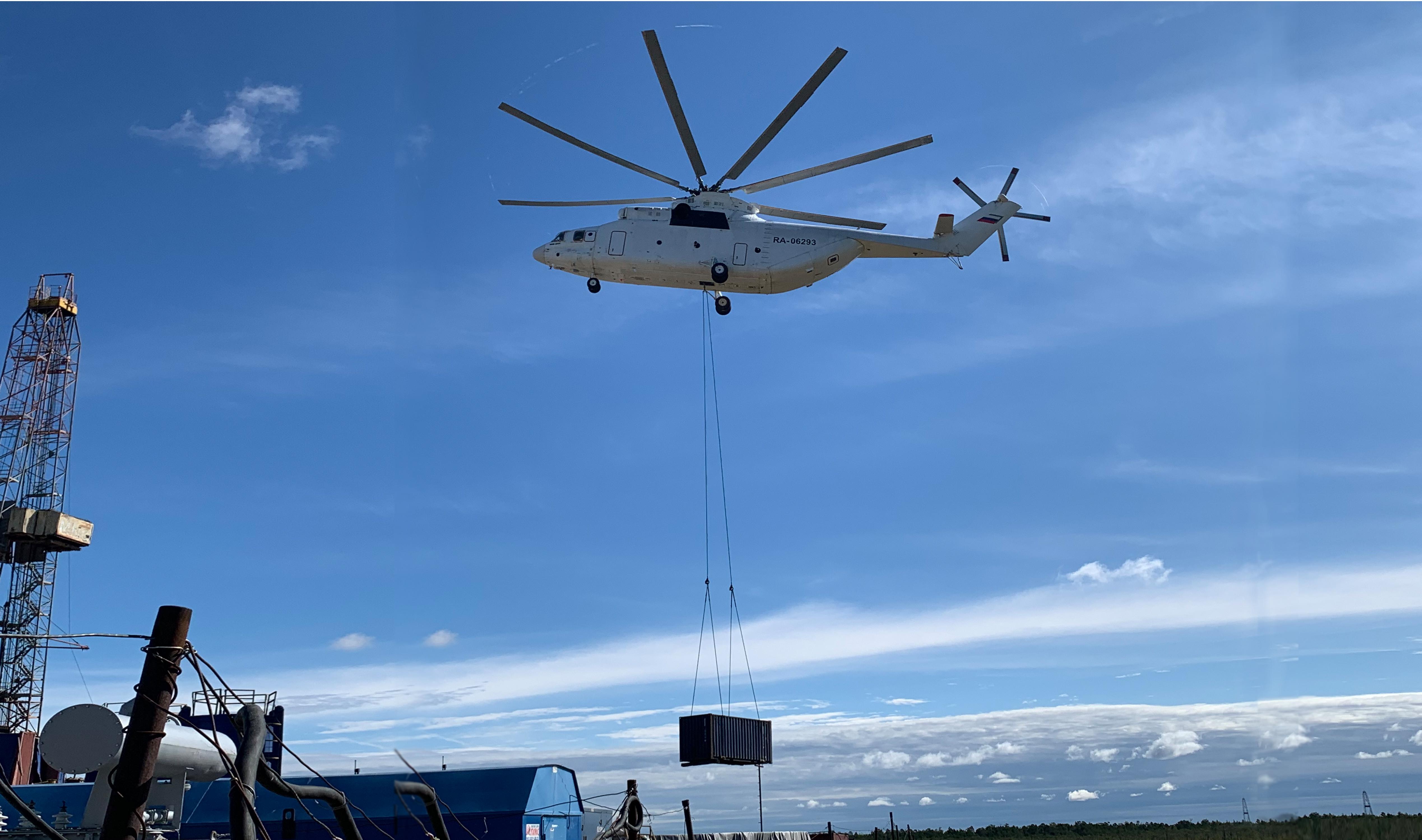 Запуск модульного флота ГРП с возможностью работы на «вертолётных» проектах в условиях автономии