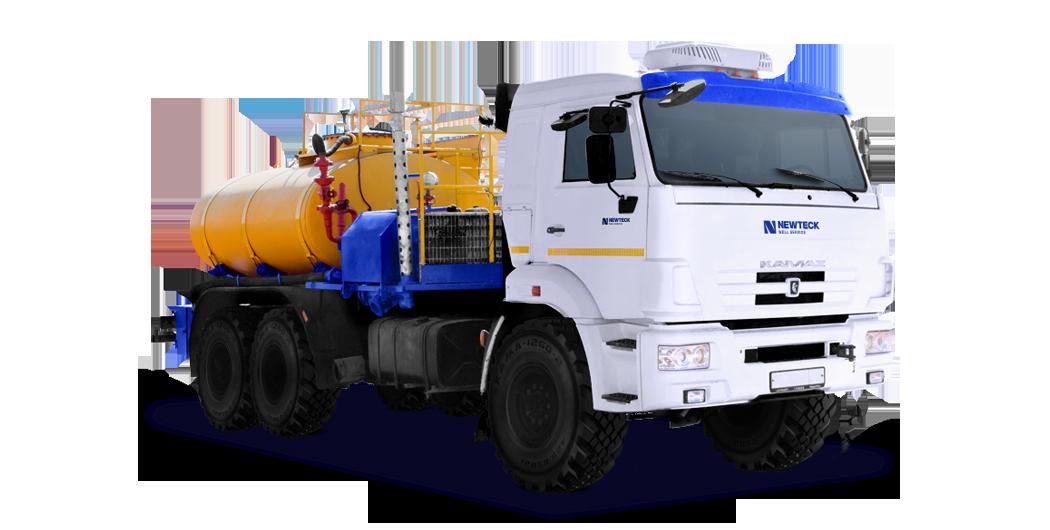 Насосная установка для кислотной обработки скважин на шасси (СИН 32)