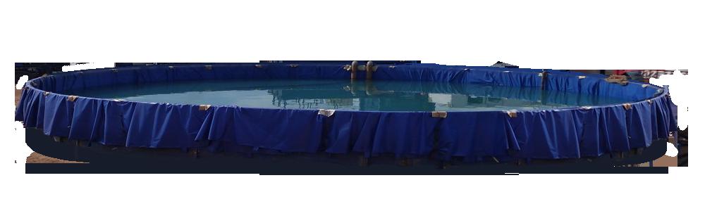 Разборная емкость для воды большого объема